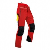 Pfanner Ventilation A Chainsaw Trousers Red