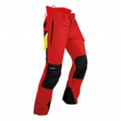 Pfanner Gladiator A Red Chainsaw Trousers