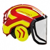 Protos Integral Forest Helmet Red/Yellow