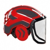 Protos Integral Forest Helmet Red/Grey