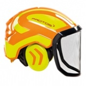 Protos Integral Forest Helmet Orange/Yellow