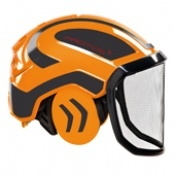 Protos Integral Forest Helmet Orange/Grey