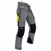 Pfanner Ventilation C Chainsaw Trousers Grey
