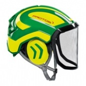 Protos Integral Arborist Helmet Green/Yellow