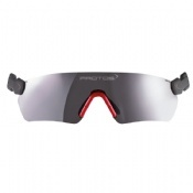 Protos Integrated Safety Glasses Grey Mirror