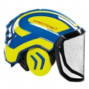 Protos Integral Forest Helmet Blue/Yellow