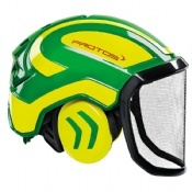 Protos Integral Forest Helmet Green/Yellow