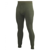 Woolpower Long Johns With Fly 400 Green