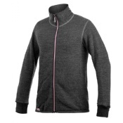 Woolpower Full Zip Jacket Colour Collection 400 Grey Rose