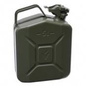 5 Litre Steel Jerry Cans
