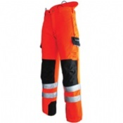 Pfanner Hi-Viz Orange Chainsaw Trousers C