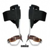 Distel Aluminium Climbing Spurs with Leather Straps