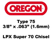 Oregon Type 75LPX Chains