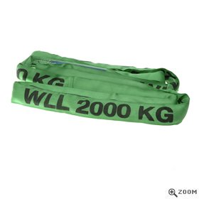 2 Tonne Round Slings in Green