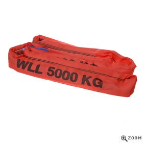 5 Tonne Round Slings in Red