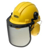 Oregon Chainsaw Safety Helmets in Yellow