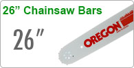 26 inch Chainsaw Bars