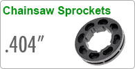 ".404"" Chainsaw Sprockets"