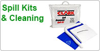 Spill Kits and Cleaning Equipment