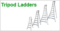 Shop for Arborist's aluminium tripod ladders