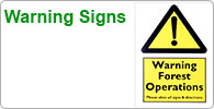 Shop for Arborist's warning signs