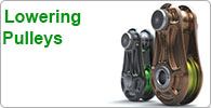 Shop for Arborist's lowering pulleys