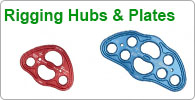 Shop for Arborist's rigging plates and hubs