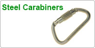 Shop for Arborist's steel carabiners and maillons