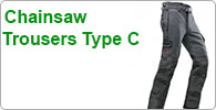 Type C Chainsaw Trousers with All Round Leg Cut Protection